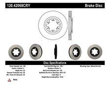Premium Disc-Preferred fits 1998-2004 Nissan Pathfinder  CENTRIC PARTS