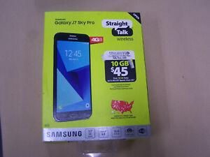 "Straight Talk SAMSUNG Galaxy J7 sky pro 16GB 4G Smartphone 5.5"" android lte-v"