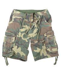 Rothco 2540 Woodland Camo Vintage Infantry Utility Shorts