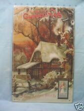 Home for Christmas Decor Tin Metal Sign Holiday Vintage Look NEW