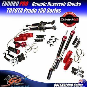 Drivetech 4x4 Enduro Pro Shocks F & R set DTEP007 DTEP019 fits TOYOTA 150 Prado