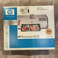 HP Photosmart 8250 Digital Photo Inkjet Printer New In Factory Sealed Box