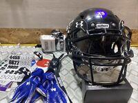 Schutt Vengeance A11 Youth Extra Small Football Helmet NWOT UA Visor Chin Strap