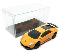 "Lamborghini Murgielago LP 670-4SV Orange 1/64 (2.5"") RMZ City Free Display Box"