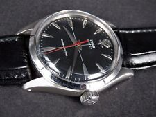 VINTAGE BIG ROSE TUDOR OYSTER SWISS STAINLESS STEEL SS MANUAL WINDING MENS WATCH