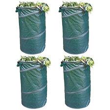 4x Gartensack Popup Laubsack Gartenabfallsack Abfallsack Rasensack Sack 120Liter