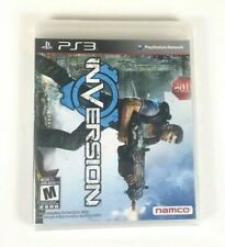 Playstation 3 PS3 Inversion Namco Video Game Sealed