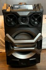 Pyle PWMA325BT Bluetooth Karaoke Speaker System  Wireless Mic  MP3/USB/SD/FM