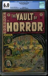 Vault of Horror #27 CGC 6.0 (C-OW) Johnny Craig Ooze Cover