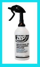 Zep Industrial Size PROFESSIONAL SPRAYER Empty Chemical Spray Bottle LARGE 48oz