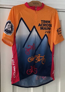 Trek Across Maine 2008 Bicycle Jersey Size L