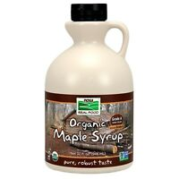 NOW Foods Maple Syrup, Organic Grade A Dark Color (formerly Grade B), 32 oz