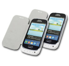 2 X 2000MAH BACKUP BATTERY CHARGER SNAP ON POWER CASE COVER WHITE GALAXY S3 MINI