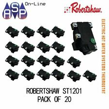 ELECTRIC HOT WATER THERMOSTAT - ROBERTSHAW ST1201 - SUITS ALL MAJOR BRAND - PK20