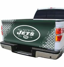 """New York Jets 55"""" x 28"""" Stretchable Automotive Tailgate Cover"""