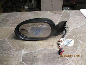 🥇2002-2008 JAGUAR X-TYPE LEFT DRIVER SIDE VIEW DOOR MIRROR POWER DARK GREEN OEM