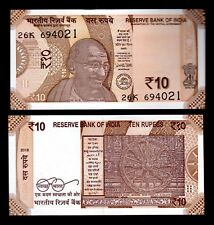 MONEY WORLD INDIA IN ASIA,1 PCE OF 10 RUPEES 2017 (2018), P-NEW, FROM BUNDLE