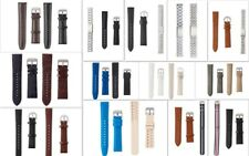2 Pack PU Leather Stainless Steel Watch Strap Mens + Womens Pins + Tool Included
