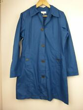 CAPTURE Sz 8 Blue Jacket/trench coat