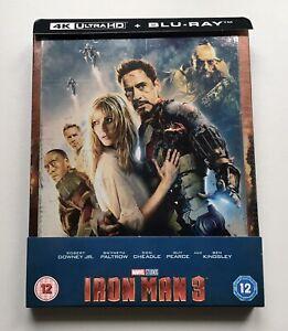 Iron man 3 Blu-Ray Steelbook Ultra HD 4K Zavvi Edition