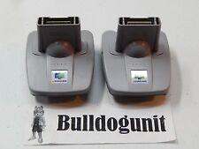 Lot of 2 Nintendo 64 Official Transfer Pak OEM Pack Adapter