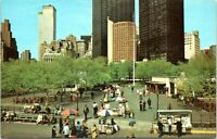 1970s World Trade Center Twin Towers WTC Battery Park NYC Postcard AU