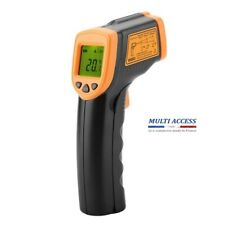 Thermomètre infrarouge IR laser sans contact numérique température -32°C à 380°C