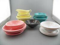 VTG Boontonware Melmac Melamine Retro Kitchen 28 Assorted Pieces Multi-Color GUC