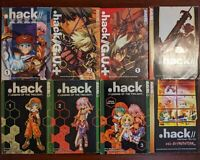 .hack Manga Collection Lot Legend of the Twilight XXXX G.U.+ Another Birth