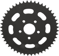 Drag Specialties Black 48 Tooth Dished Rear Sprocket 530 79-99 Harley Touring XL