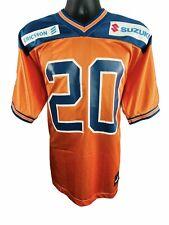 Puma NFL Europe Amsterdam Admirals #20 Jersey Orange Men's Sz S