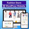 Fashion Sale Business Affiliate Website Store Free Cloud Hosting + Installation
