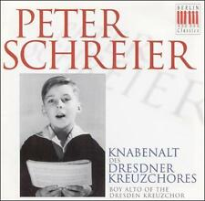 Peter Schreier: Boy Alto of, New Music
