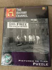 The History Channel Pictures In Time Free Golf 500 Piece Jigsaw Puzzle 21x15 New