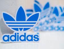 adidas Original streetwear fashion Blue logo waterproof 7cm Decal STICKER #4266