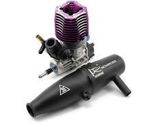 Novarossi 2.5 Super Charged Engine w/51225-206 Tuned Pipe (Revo) (Turbo)