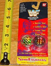 1994 WWF WWE Spin Fighters Shawn Michaels Doink Wrestling Tops MOC Die cast