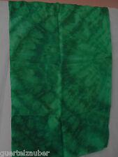 SEIDEN-TUCH Batik-Look XXXL SCARF SEIDE SILK Seegrün