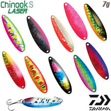 Daiwa Chinook S Laser 7 g 53 mm trout spoon various color