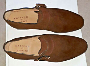Alfred Sargent / Shipton & Heneage Reigate Mens Tan Brown Shoe Suede England '8'