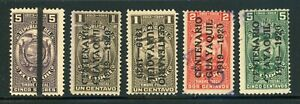ECUADOR Revenue Fiscal Specialized: LOT #22 - SMALL ASSORTMENT - SEE SCAN $$$