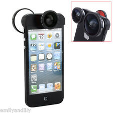Bestlight Cap On 4 in 1 Wide Angle+Front&Back Fisheye+Macro Lens for iPhone 5 5s