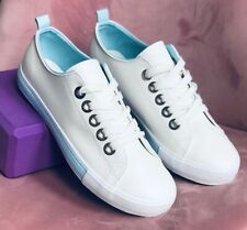 Womens Older Girls Denim Canvas Shoes Trainers Sneakers Plimsols Pumps 3 -7.5