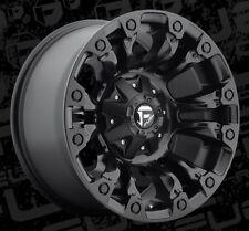 Fuel Vapor 18x9 6x135/6x5.5 ET-12 Matte Black Wheels (Set of 4)