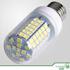 Bombilla E27 LED 96 SMD 5050 Blanco Puro 220~250V AC - 14W Alta Luminosidad