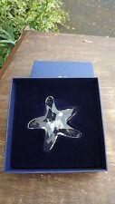 Swarovski Crystal large Star Fish - mint condition in original box