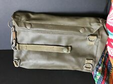 Vintage German Military Bag with Clip …beautiful collection item