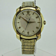 Vintage Jaeger LeCoutre Automatic Power Reserve Swiss Caliber 481 17J 10k Gold F