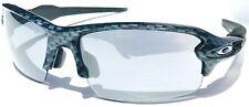 NEW Oakley FLAK 2.0 Carbon Fiber Slate Iridium Cycling Bike Sunglass 9271-06