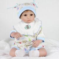 2017 HOT 16  NEWBORN BABY GIRL LIFELIKE REALISTIC REBORN BABY DOLL UK KIDS GIFTS